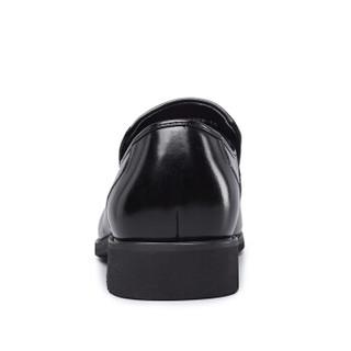 YEARCON 意尔康 7101ZR97929W 男士商务正装皮鞋 黑色 39