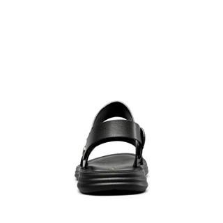YEARCON 意尔康 8342ZS68752W 男士沙滩凉鞋 黑色 44