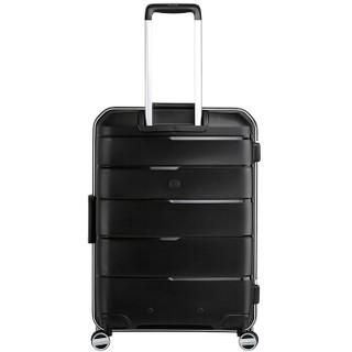 OIWAS 爱华仕 6326 飞机轮拉杆箱 黑色 24寸