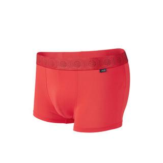HLA 海澜之家 HUKAJ1E017A 男士内裤 (165/90(M)、大红)