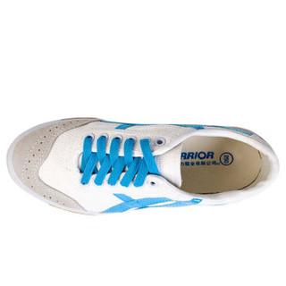 WARRIOR 回力 WL-27A 中性款休闲运动鞋 白蓝 41