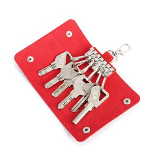 DOODOO D0002 女士钥匙包 红色