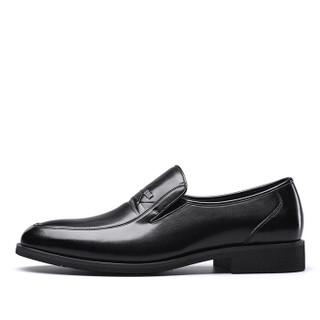 YEARCON 意尔康 7101ZR97929W 男士商务正装皮鞋 黑色 43