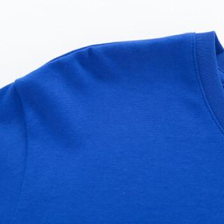 Semir 森马 19416011201 男士趣味印花长袖T恤 中国蓝 S