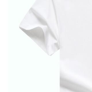 CARTELO KFT0820 男士圆领短袖T恤 白色 L