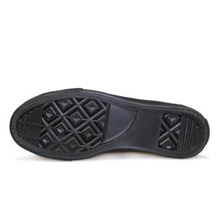 WARRIOR 回力 WXYA007 男女士平底帆布鞋 黑色 41