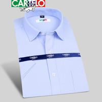 CARTELO CSCX01D 男士短袖衬衫 蓝色 43