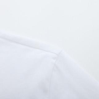 Semir 森马 19038001237 男士圆领短袖T恤 漂白 XL