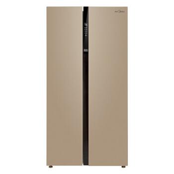 Midea 美的 BCD-521WKM(E) 风冷 对开门冰箱 521升