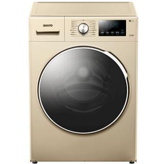 SANYO 三洋 8公斤 WF80B576SJ 滚筒洗衣机