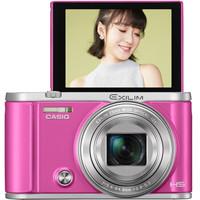 CASIO 卡西欧 ZR3700礼盒版 美颜数码相机 玫红色