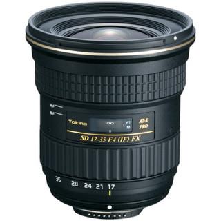 Tokina 图丽 AT-X 17-35mm F4 PRO FX 全画幅广角镜头 尼康卡口