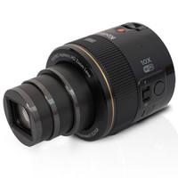 柯达(Kodak)SL10 镜头式数码相机 黑色 (10倍光学变焦 NFC/WIFI功能 手机 / 智能设备无线操控)