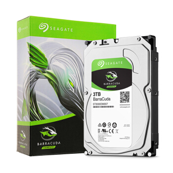 SEAGATE 希捷 BarraCuda 酷鱼 台式机硬盘 3TB 256MB 5400rpm ST3000DM007