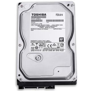 TOSHIBA 东芝 Video Stream系列 3.5英寸监控级硬盘 1TB 32MB(5700rpm、PMR)DT01ABA100V
