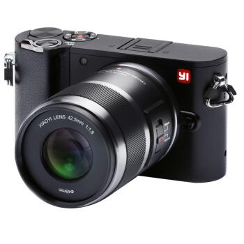 YI 小蚁 M1 微单相机 (42.5mmF1.8) 黑色