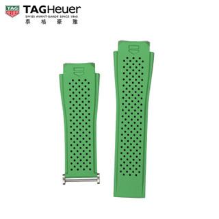 TAG Heuer 泰格豪雅 1FT6083 45瑞士手表智能腕表绿色橡胶表带 适配钛合金表扣 45毫米