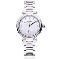 TITONI 梅花 MISS LOVELY系列 23977 S-508 女士机械手表