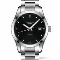 LONGINES 浪琴 康铂系列 L2.785.4.58.6 男士机械手表