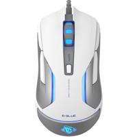 E-3LUE 宜博 M668 有线游戏鼠标 白色