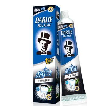 DARLIE 黑人 超白竹炭深洁牙膏 120g