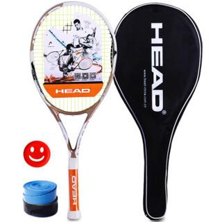 海德HEAD网球拍 德约科维奇Attitute系列碳素网拍 赠手胶避震器 已穿线金色