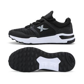 XTEP 特步 983119529261 男士综训鞋 黑 44码