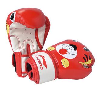 李宁 LI-NING 儿童拳击手套 拳击散打泰拳拳套 跆拳道武术搏击手套 沙袋手套