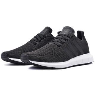 adidas 阿迪达斯 CQ2114 SWIFT RUN 男女休闲鞋 黑色 37