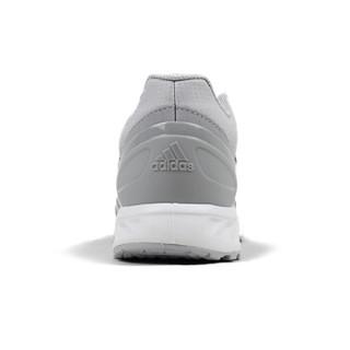 adidas 阿迪达斯 AQ0746 男子跑步鞋 二度灰/白/二度灰 42.5