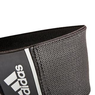 阿迪达斯adidas运动护膝护肘 加压绷带式男女跑步篮球半月板防护护具 加长款均码 单只装