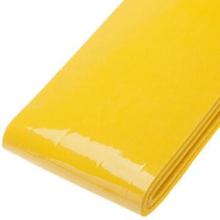 李宁 LI-NING 手胶防滑握把胶吸汗带 光面防滑吸汗 GP201黄色 3条装