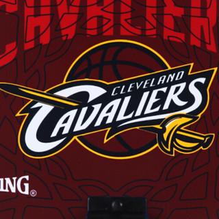斯伯丁SPALDING骑士队徽迷你篮球框室内儿童小篮板77-637Y 送NBA小篮球