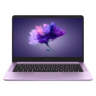19日16点 : HUAWEI 华为 荣耀 MagicBook 14英寸笔记本电脑(i5-8250U 8G 256G MX150 2G独显 )星云紫