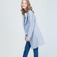 秋季焕新:La·go·go 拉谷谷 FDDD33N935 女士双排扣大衣