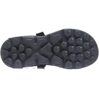SKECHERS 斯凯奇 54265/CHAR 男款凉鞋(炭灰色 43.5)