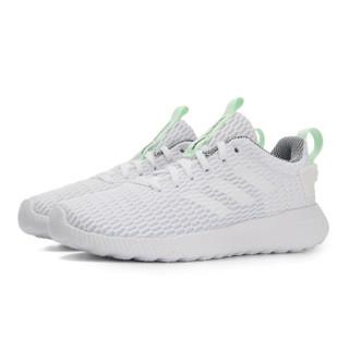adidas 阿迪达斯 NEO DB1697 女子休闲鞋 白/白/航空绿 38.5
