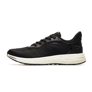 ANTA 安踏 11815532 2018新品 FLASHFOAM 男士轻质高弹跑步鞋 黑 39