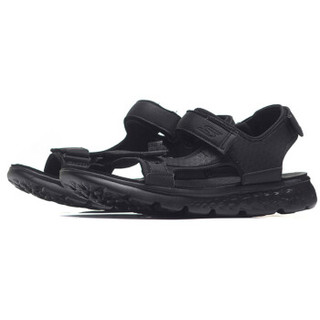 SKECHERS 斯凯奇 54265/CHAR 男款凉鞋(全黑色 44.5)