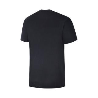 361° 361度 651822104 男子运动短袖T恤 (基础黑 XL)