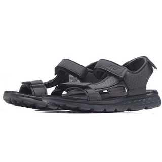 SKECHERS 斯凯奇 54265/CHAR 男款凉鞋(炭灰色 41)