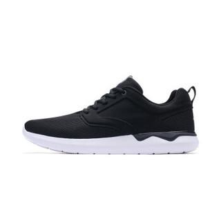 XTEP 特步 982119119312 男士慢跑鞋 黑 40码