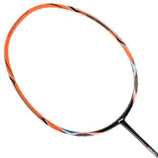 李宁 LI-NING 全碳素羽毛球拍单拍HC1200男女训练超轻羽毛球拍 AYPK092-1 橙色(已穿线)