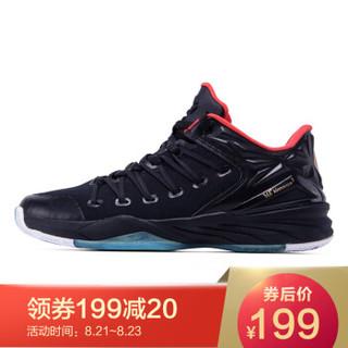 361° 361度 671711101-4 男士篮球鞋 黑色/火红 42
