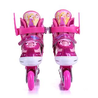 Disney 迪士尼 儿童溜冰鞋套装 (桃红色公主款、S码)