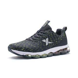 XTEP 特步 982119119087 男士运动跑鞋 黑绿 43码