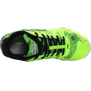 LI-NING 李宁 AYTL067 男士羽毛球鞋 防滑训练鞋 荧光亮绿 46码
