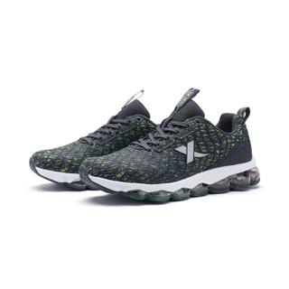 XTEP 特步 982118119087 女士跑鞋 黑灰 38码