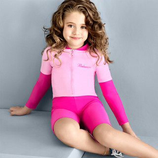 BALNEAIRE 范德安 260009-1 儿童连体平角女童泳衣 7-8岁(120-130cm/22-24kg)