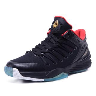 361° 361度 671711101-4 男士篮球鞋 黑色/火红 45